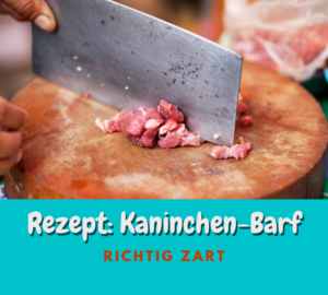 Read more about the article Rezept: Kaninchen-Barf | Die zarte Versuchung 2021