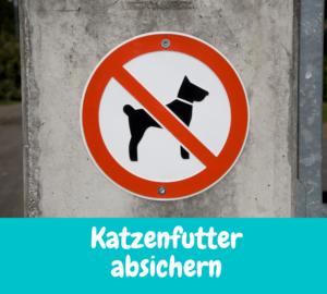 Read more about the article Katzenfutter absichern – Damit nur die richtige Katze frisst.